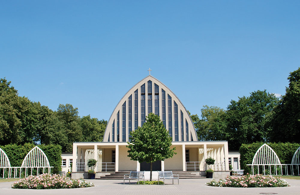 Kapelle auf dem Stadtfriedhof Celle